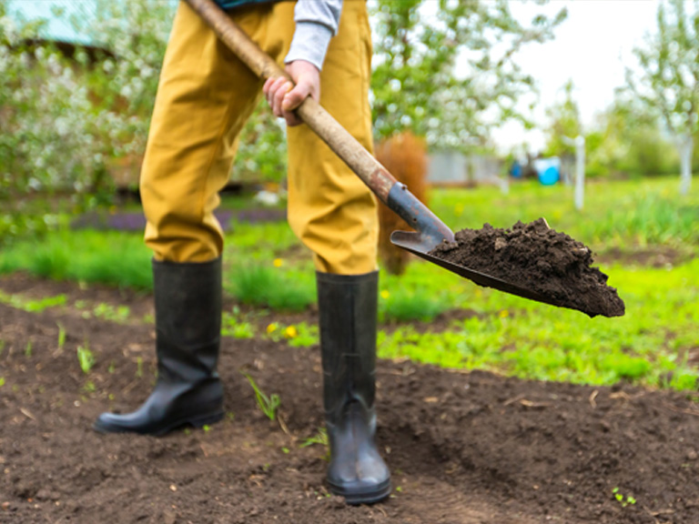 Improving Clay Soil with Gypsum