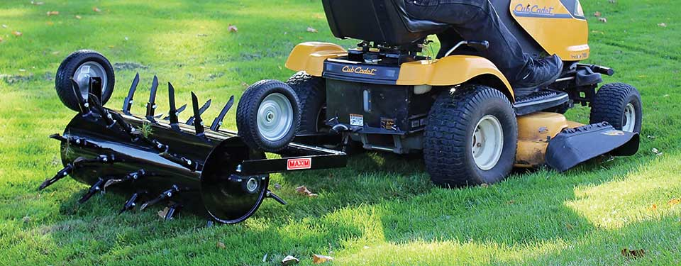Pull Behind Plug Aerator For The Money